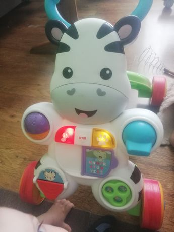 Pchacz Fisher price zebra