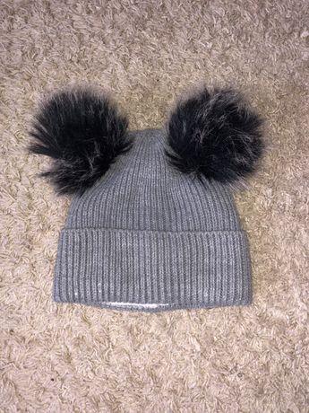 Зимнаяя шапочка для девочки