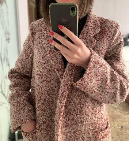 Шерстяное брендовое пальто VOVK букле