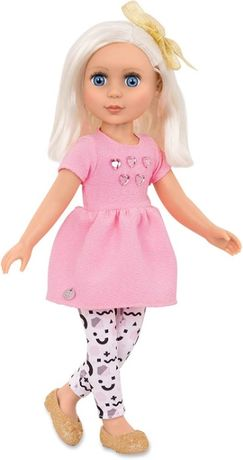Кукла с блестками шарнирная Элула Glitter Girls Dolls by Battat Elula