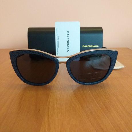 Balenciaga UNIKAT oryginalne nowe okulary przeciwsłoneczne damskie kot