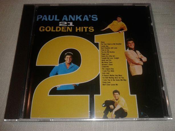 Paul Anka's - 21 Golden Hits [Nowa Bez Folii]