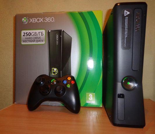 Xbox 360 Slim+250GB+FreeBoot+Игры!!!