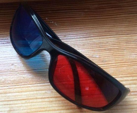 3D стерео очки (анаглифные)