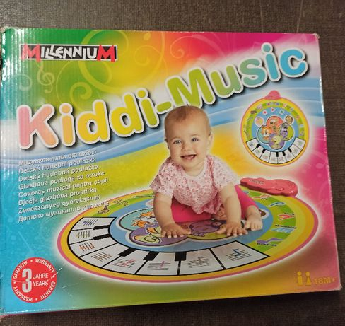 Mata muzyczna dla dzieci Kiddi-Music Millennium - stan idealny