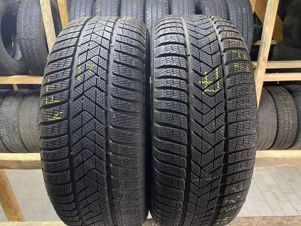 Шини бу зима 245/45R18 Pirelli Sottozero3 2шт 17рік 8мм ранфлет