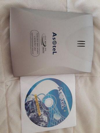 Модем ASOTEL PT-3120 (внешний голосовой факс-модем GVC R21)