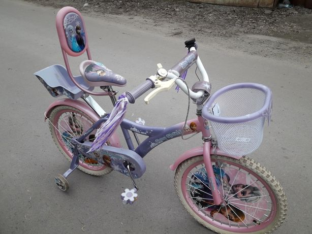Велосипед для девочки на 6-10 лет