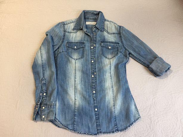 Clockhouse, rozm. S, 36, koszula jeansowa