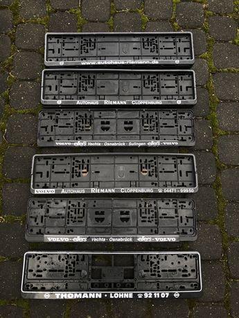 Ramki pod rejestracje tablice rejestracyjną Niemieckie Volvo