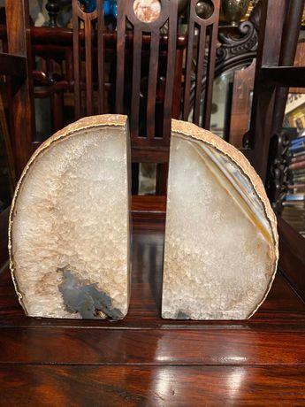 Rara Pedra serra livros Anos 70  Preciosa 22cm Geodo Ágata