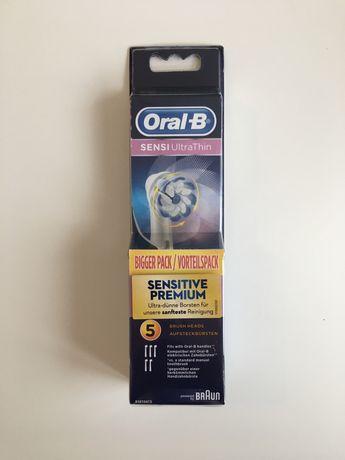 Oral-B Sensi Ultra Thin Końcówki 5 sztuk
