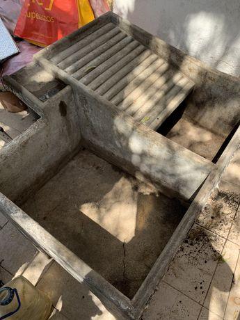 Tanque de cimento
