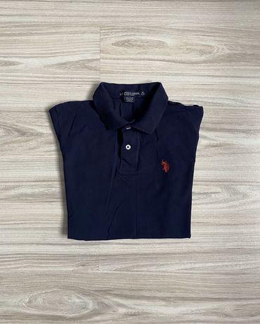 Granatowa koszulka U.S. POLO ASSN. rozmiar 140 cm
