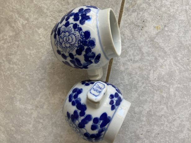 Comedouros para gaiola em porcelana