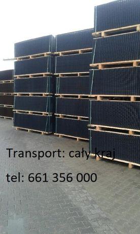 Panele/Panel/Słupek/Słupki Ogrodzeniowe fi4mm-50x200-Czarne-1,53 h