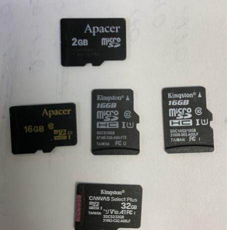 Micro sd 16 gb флешка