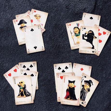 limitowana edycja kart do gry danio