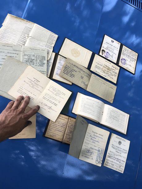 Старые документы и удостоверения диплом и другое Ссср,цена за все