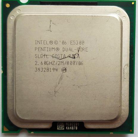 Процессор Intel Pentium E5300 Dual Core 2.6GHz/2M/800 SLGTL Costa Rica