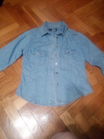 Jeansowa koszula M