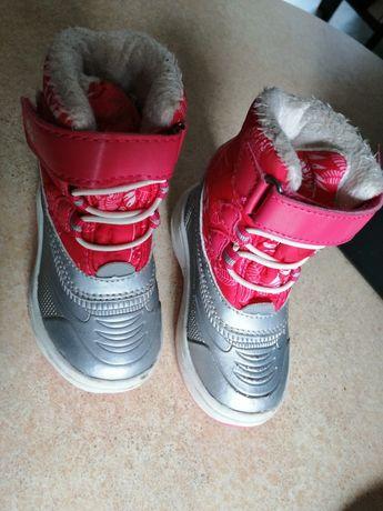 Buty zimowe śniegowece r. 21 12 cm