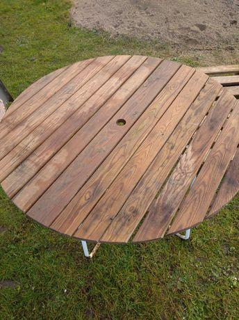 Stolik ogrodowy składany