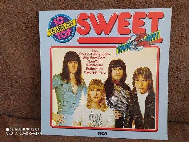The Sweet – 10 Years On Top Vinyl, 1978 Germany