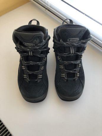 Зимние ботинки L.O.W.A  gore-tex (ecco, geox)