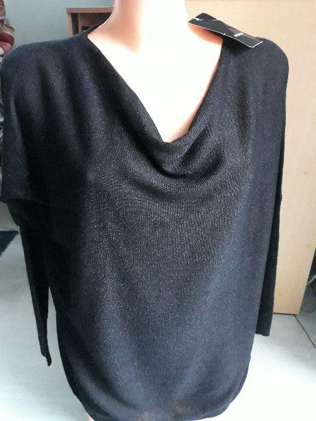Nowy Sweterek Reserved czarny rozm M