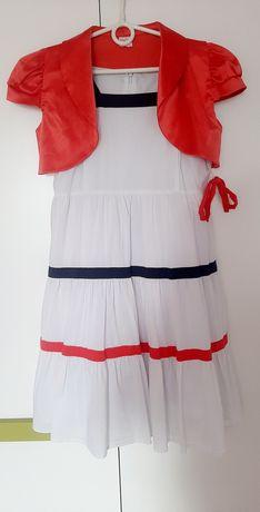 Sukienka+bolerko 140 cm