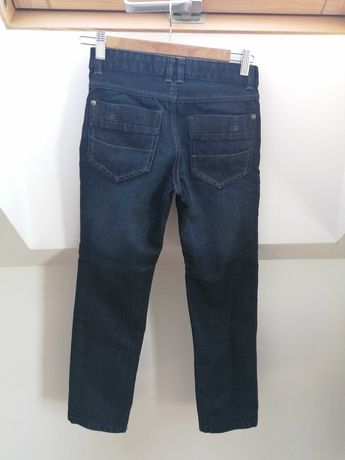 Spodnie jeans granatowe Pepperts 146 cm