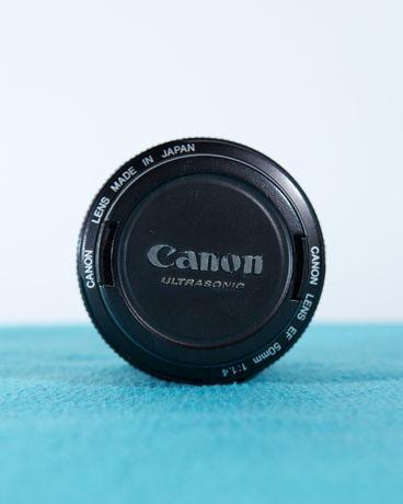 Obiektyw Canon 50mm f1.4
