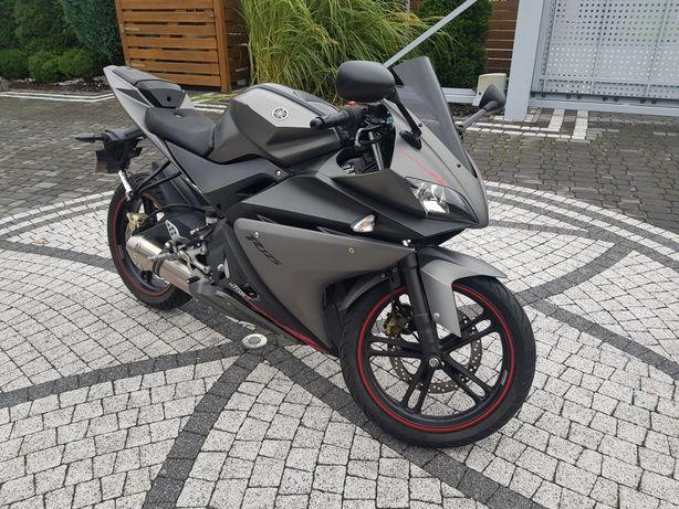 Yamaha r125 yzf 2014 yamaha yzf r125 sportowy tlumik kat-B transport