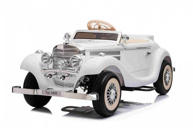 Auto Pojazd Mercedes Benz Retro Typ 540 Biały A200