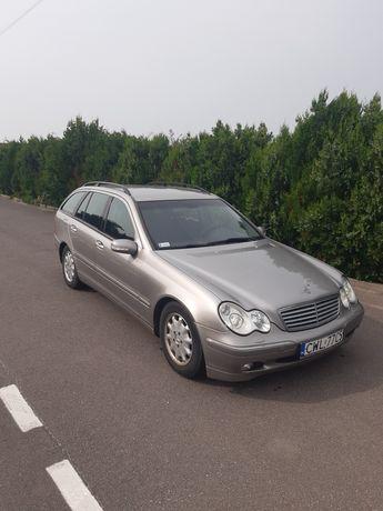 Mercedes C220D 2003r klimatyzacja,  alufelgi, elektryczne szyby