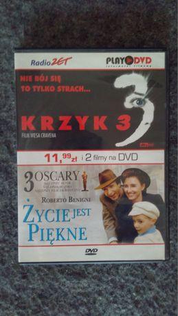 """Film """"Krzyk 3/Życie jest piękne"""" DVD"""