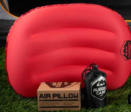 подушка путещественника красная с черным устойчивая к проколам США