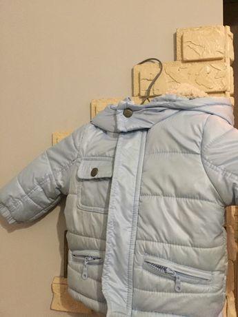 Весна/осінь куртка з штанами на хлопчика 9-12 місяців, ріст 74-80 см.