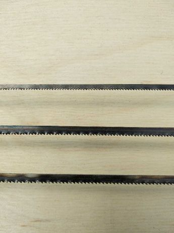Piła taśmowa stolarska modelarska do drewna 4x0,65x18z/cal