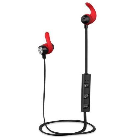 AY Auriculares Bluetooth com íman, resistente à água