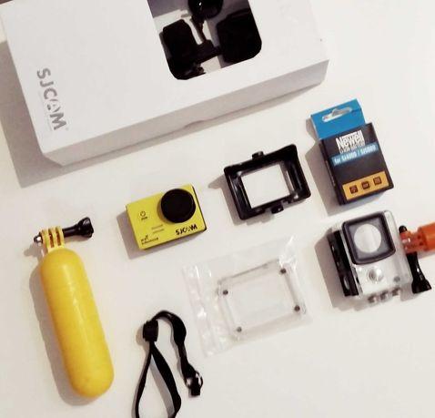 Kamera sportowa Sjcam SJ5000x Elite + drugi akumulator + bojka do wody