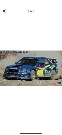 Subaru Impreza WRC Mexico Winner 2005 | Hasegawa Modelismo Selado 1/24