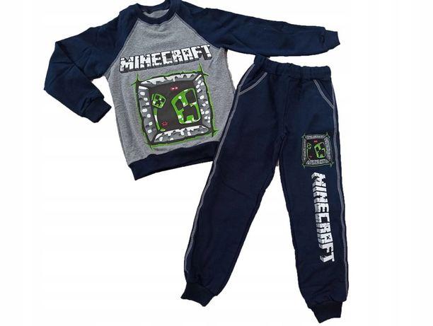 Dres bluza spodnie Minecraft 116 122, 128, 134, 140, 146, 152