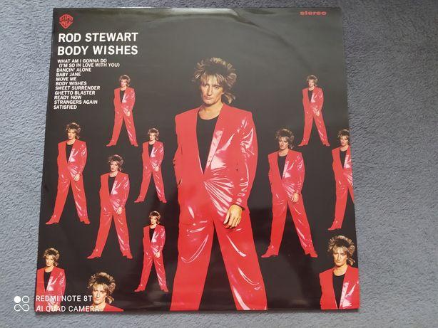 Rod Stewart – Body Wishes Vinyl 1983 Portugal