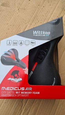 Nowe siodełko siedzenie siodło Wittkop Medicus Air MTB City Trekking