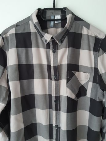 Bawełniana koszula H&M