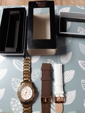 Zegarek damski na branzolecie aviator