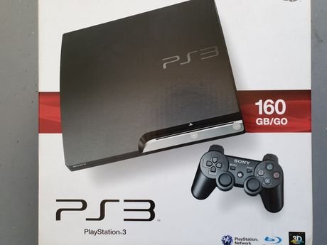 Playstation 3 - 160GB - 465GB (reais)
