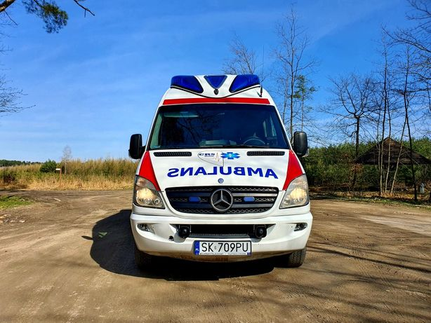 Ambulans Karetka Sprinter 316
